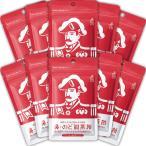 【ポイント5倍・10%OFF・送料無料】【森下仁丹公式】鼻・のど甜茶飴 10袋セット のど飴 のどあめ