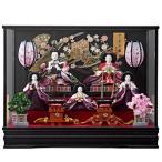 ひな人形 ケース飾り 雛人形 5人飾り 詩織 153-526