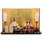 雛人形 ケース飾り 親王飾り ひな人形 みゆき 163-208