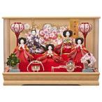 雛人形 ケース飾り 5人飾り ひな人形 舞姫 163-533