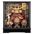 五月人形 兜飾り コンパクト 上杉謙信 ケース飾り かぶと 兜 135-728 kabuto-49
