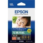 純正 EPSON KL100PSKR 写真用紙 光沢 L判 100枚入り【KL100PSKR】