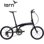 ショッピング自転車 Tern(ターン) Verge X20(ヴァージュ X20)|2017年度モデル|20インチ20段変速折りたたみ自転車