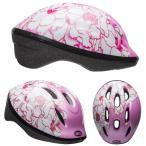 ((送料0円))BELL ZOOM2 ズーム2 ピンクフラワー ヘルメット/ ベル 自転車 子供用ヘルメット