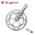 sugino Mighty Comp 901D マイティーコンプ SL/SL クランク長:160mm BB付属 クランクセット/ スギノ 自転車パーツ((送料0円))