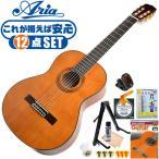 初心者セット クラシックギター  12点 入門セット Aria Classic Guitar A20 アリア アコースティックギター A-20