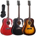 モーリス アコースティックギター Morris G-401 ハードケース付属 エレアコ ドレッドノート ウェスタンサイズ G401 アコギ