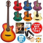 初心者セット アコースティックギター アリア アコギ 11点 入門セット ARIA TG-1 アコギセット