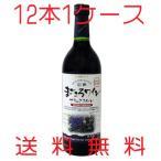 アルプスワイン 無添加 信州まごころワイン ブラッククイーン 赤 辛口 720ml×12本 送料無料
