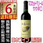 予約 井筒ワイン 2016 新酒 無添加 マスカットベリーA 赤 辛口 720ml 国産ワイン よりどり6本以上送料無料