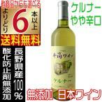 井筒ワイン 無添加ワイン ケルナー 白 720ml