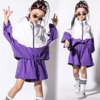 キッズダンス衣装 ヒップホップ キッズ ダンス衣装 練習着 子供 男の子 女の子 ダンスTシャツ ダンストップス ジャズダンス 発表会 練習着 hiphop