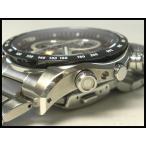 セイコー 腕時計 イグニッション(ignition)クロノグラフSBHP015 SS クオーツブラック×シルバー×ワインレッド