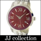 HUNTING WORLD ハンティングワールド メンズ腕時計 タイムチェイサー SS クオーツ レッド文字盤