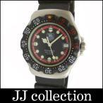 TAG HEUER TAG HEUER タグホイヤー ボーイズ腕時計 プロフェッショナル200M フォーミュラ1 SS×ラバー クオーツ ブラック文字盤