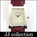 MONTBLANC モンブラン レディース腕時計 プロファイル SS×レザー クオーツ