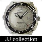 JEANRICHARD ジャンリシャール メンズ腕時計 アクアスコープ SS×ラバー(ホワイト) 自動巻き(オートマチック:AT) シルバー文字盤