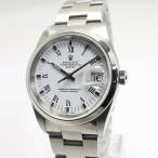 ROLEX ロレックス オイスターパーペチュアルデイト ホワイト文字盤 15200 メンズウォッチ 腕時計 P番【中古】[ic]