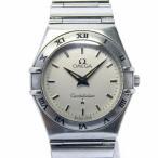 OMEGA オメガ コンステレーション SS レディース腕時計 文字盤ホワイト クオーツ 1572.30【中古】[iw]