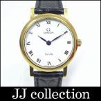 OMEGA オメガ レディース腕時計 デビル K18イエローゴールド(金無垢) レザーベルト