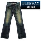 BLUEWAY ブーツカットジーンズ エンジニア フレアカット ビンテージデニム(モーターサイクル):M1631-6155