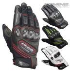 コミネ GK-167 カーボン プロテクトメッシュグローブ KOMINE 06-167 Carbon Protect M-Gloves  スマホ対応グローブ