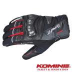 コミネ GK-802 プロテクトウインターグローブ-ハンニバル KOMINE 06-802 バイクグローブ 秋冬用