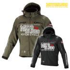 モトファンゴ MJ-005 ソフトシェルウインターパーカ 秋冬 バイクジャケット 2019年モデル MOTOFANGO 17-005 コミネ KOMINE