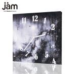 ショッピングJAM Galaxypink  ファブリック時計 掛け時計 掛時計 壁掛け おしゃれ クロック