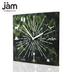 ショッピングJAM ADVENTURE TYPE A:CAMPER ファブリック時計 掛け時計  おしゃれ クロック