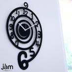 JAM 掛け時計 EDDY TIME ブラック JMC-CL 0002