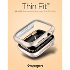 apple watch Series 4 5 カバー 44mm 40mm 薄型 クリア シュピゲン シン・フィット Series5 アップルウォッチ ケース シリーズ4 シリーズ5 ブランド ビジネス 落