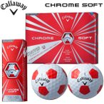 【数量限定モデル】キャロウェイ クロムソフト ボール トゥルービス1ダース(12球入り) Callaway CHROME SOFT TRUVIS BALL