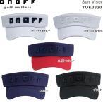 【21年継続モデル】オノフ メンズ/レディース ロゴ入り サンバイザー YOK0320 (UNISEX) ONOFF