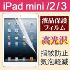 iPad mini/2/3用液晶保護フィルム 防指紋 高光沢フィルム