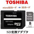 microSD/micro SDHC/microSDXCカード→SDカード 変換アダプタ