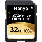 SDカード SDHCカード 32GB Hanye 超高速100MB S 最大転送速度 Class10 UHS-I U1 V10対応 パッケージ品