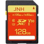 SDカード SDXCカード 128GB JNH UHS-I超高速100MB s Class10 U3 V30 4K Ultra HD 対応 エコパッケージ 国内正規品 5年保証