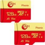 Yahoo!嘉年華microSDXC 128GB JNHブランド【2個セット・翌日配達】超高速100MB/S Class10 UHS-I U3 V30 4K Ultra HDアプリ最適化A1対応 【国内正規品5年保証】 衝撃セール