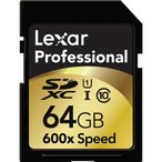 ショッピングプレミアムパッケージ プレミアムセール Lexar Professional SDXC UHS-I カード 64GB class10 クラス10 600倍速 90MB/s 海外向けパッケージ品