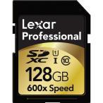 開店10周年記念一人2枚限定 Lexar Professional SDXC UHS-I カード 128GB class10 クラス10 600倍速 90MB/s 海外向けパッケージ品