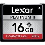 Lexar PlatinumII コンパクトフラッシュカード 16GB 200倍速シリーズ 海外パッケージ品