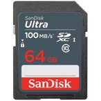 64GB  SanDisk サンディスク Ultra SDXCカード UHS-I対応 R 48MB s 海外リテール SDSDUNB-064G-GN3IN