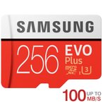 microSDXC 256GB Samsung サムスン EVO Plus EVO+ R:100MB/s W:90MB/s UHS-I U3 Class10  バルク品 春のセール