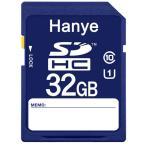 DM便送料無料 SDカード SDカード SDHCカード 32GB Hanye UHS-Iスピードクラス1 超大容量超高速90MB/S クラス10 class10 2個セットお買得
