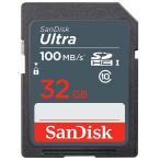 SDカード SDHCカード Ultra 32GB UHS-I 48MB/s Class10 SanDisk サンディスク 海外向けパッケージ品 DM便送料無料