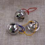 1.5寸 鈴 銀 糸付き(スチール製)