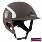 乗馬用カラーヘルメット(ブラウン) Fouganza 乗馬ヘルメット 帽子