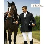 乗馬競技会用 Equi-Theme メンズ クラシック・ショージャケット(黒ブラック) 男性用 じょうらん 競技会