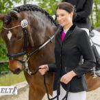 乗馬競技会用 ELT レディース ショージャケット(黒ブラック) 女性用 じょうらん トップス 競技用